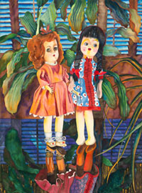 149 - Two Dolls