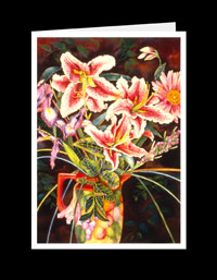 SL07_177-Stargazer Lillies In Vase